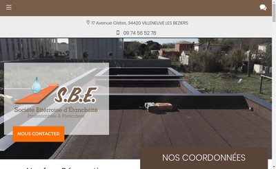 Site internet de SBE