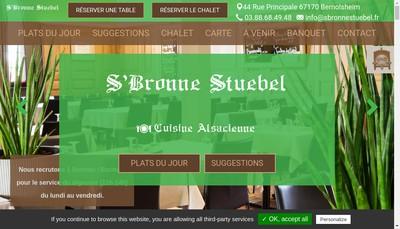 Site internet de S'Bronne Stuebel