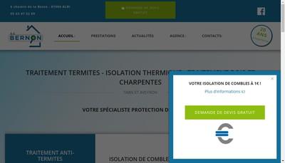 Site internet de Sc Bernon