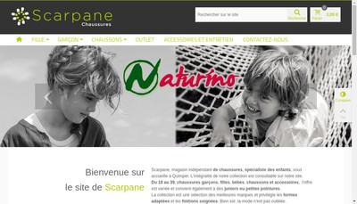 Site internet de Scarpane