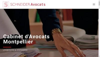Site internet de Cabinet Schneider