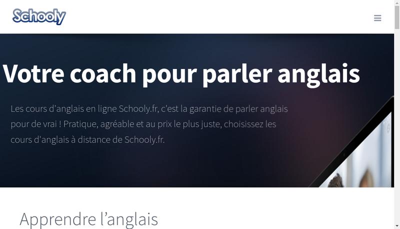 Site internet de Schooly