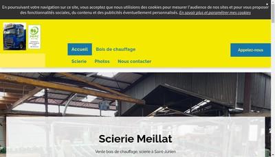 Site internet de Emilien Meillat et Fils