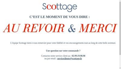 Site internet de Scottage