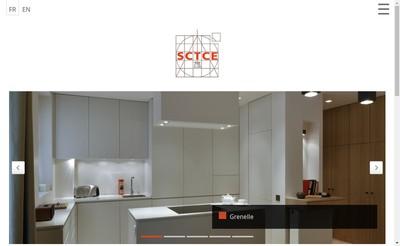 Site internet de Sctce