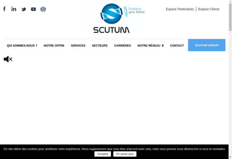 Capture d'écran du site de Matel