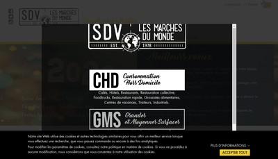Site internet de Selection Diffusion Ventes