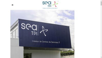 Site internet de Sea Tpi