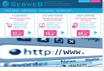 Site internet de Sebweb