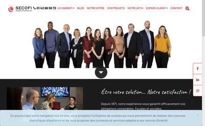 Site internet de Secofi