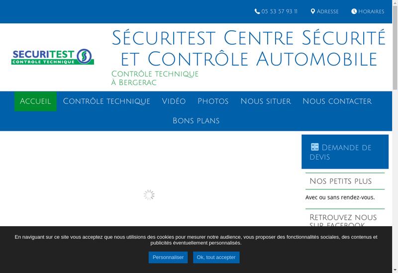 Capture d'écran du site de Csca la Cavaille