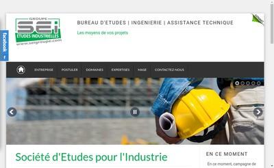 Site internet de Societe Etudes pour Industrie Bourgogne