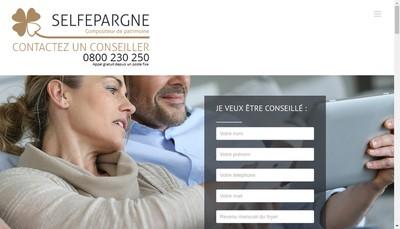 Site internet de Selfepargne SA