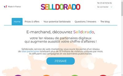 Site internet de Selldorado