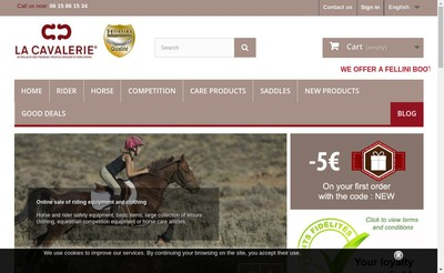 Site internet de La Cavalerie