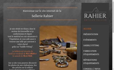 Site internet de Caroline Rahier
