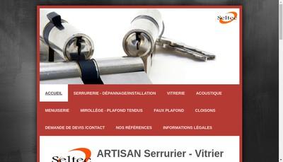 Site internet de Seltec