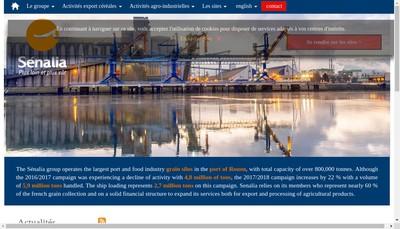 Site internet de Senalia Union