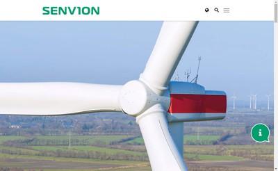 Site internet de Senvion France