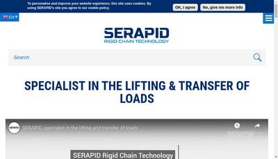 Site internet de Serapid France