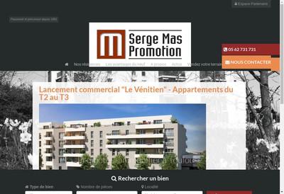 Site internet de Serge Mas Promotion