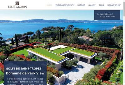 Site internet de Provence-Bastides