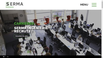 Site internet de Seal Industrie - Sereso - Surlog