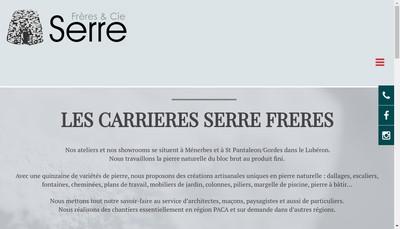 Site internet de Serre Freres et Cie