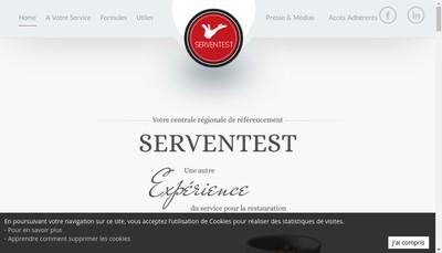 Site internet de Serventest