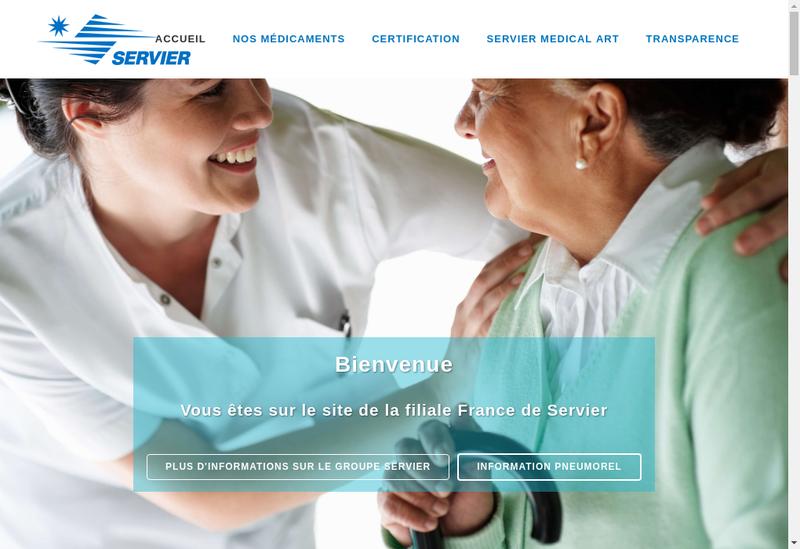 Capture d'écran du site de Oril Industrie
