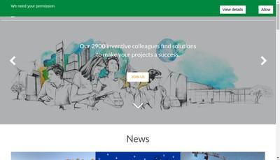 Site internet de Setec Energie Environnement