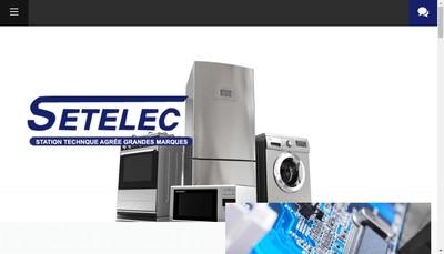 Site internet de Setelec