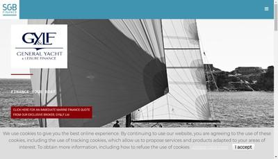 Site internet de Sgb Finance