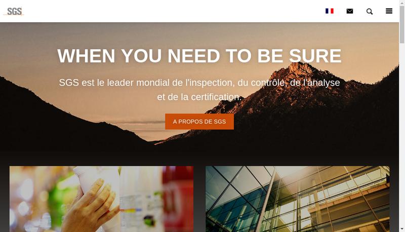 Capture d'écran du site de Petroservices