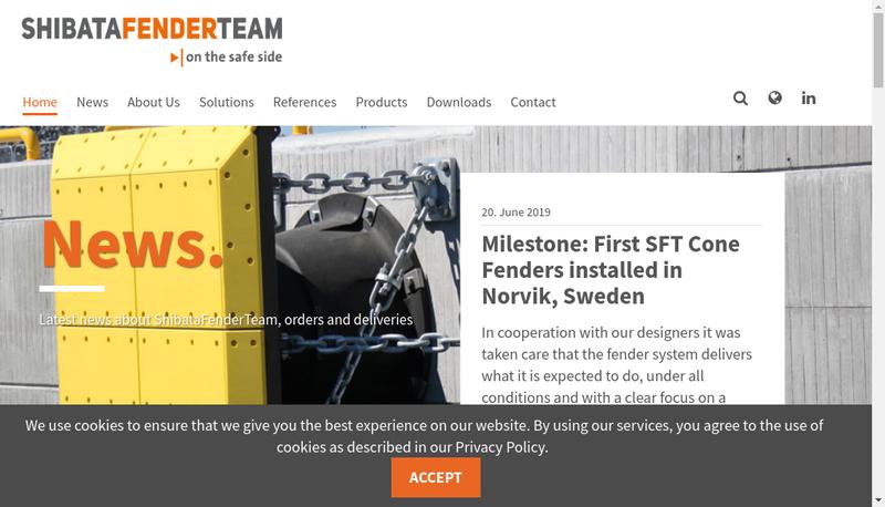 Capture d'écran du site de Fenderteam