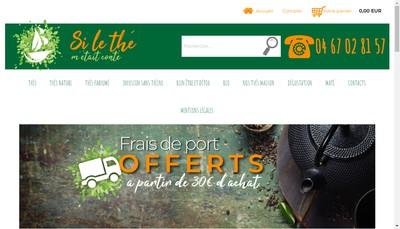 Site internet de Si le The M'Etait Conte