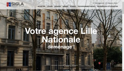 Site internet de Foncia Saint Andre