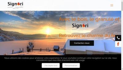 Site internet de Signori