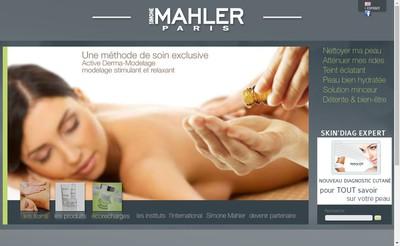 Site internet de Simone Malher
