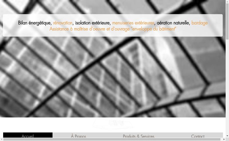 Capture d'écran du site de Securite Isolation des Parois Verticales par Abreviation SIPV