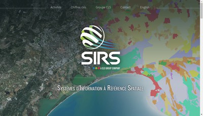 Site internet de Systemes d'Information a Reference Spatiale - Sirs