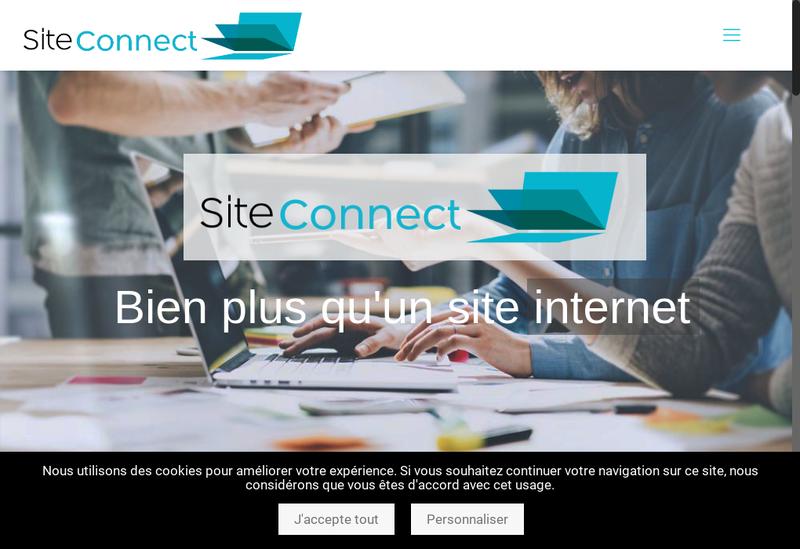 Capture d'écran du site de Martin Optique