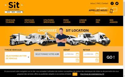 Site internet de Sit Location