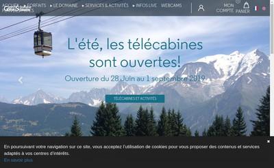 Site internet de Saint-Gervais