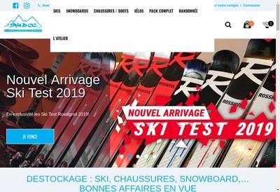 Site internet de Ski d'Oc