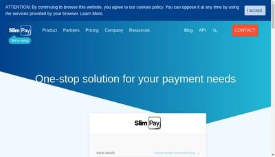 Site internet de Slimpay