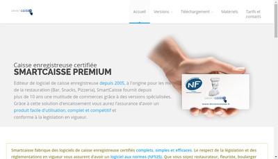 Site internet de Smartcaisse