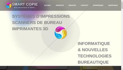 Site internet de Smart Copie