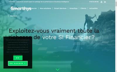 Site internet de Smarthys