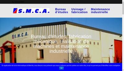 Site internet de Smca